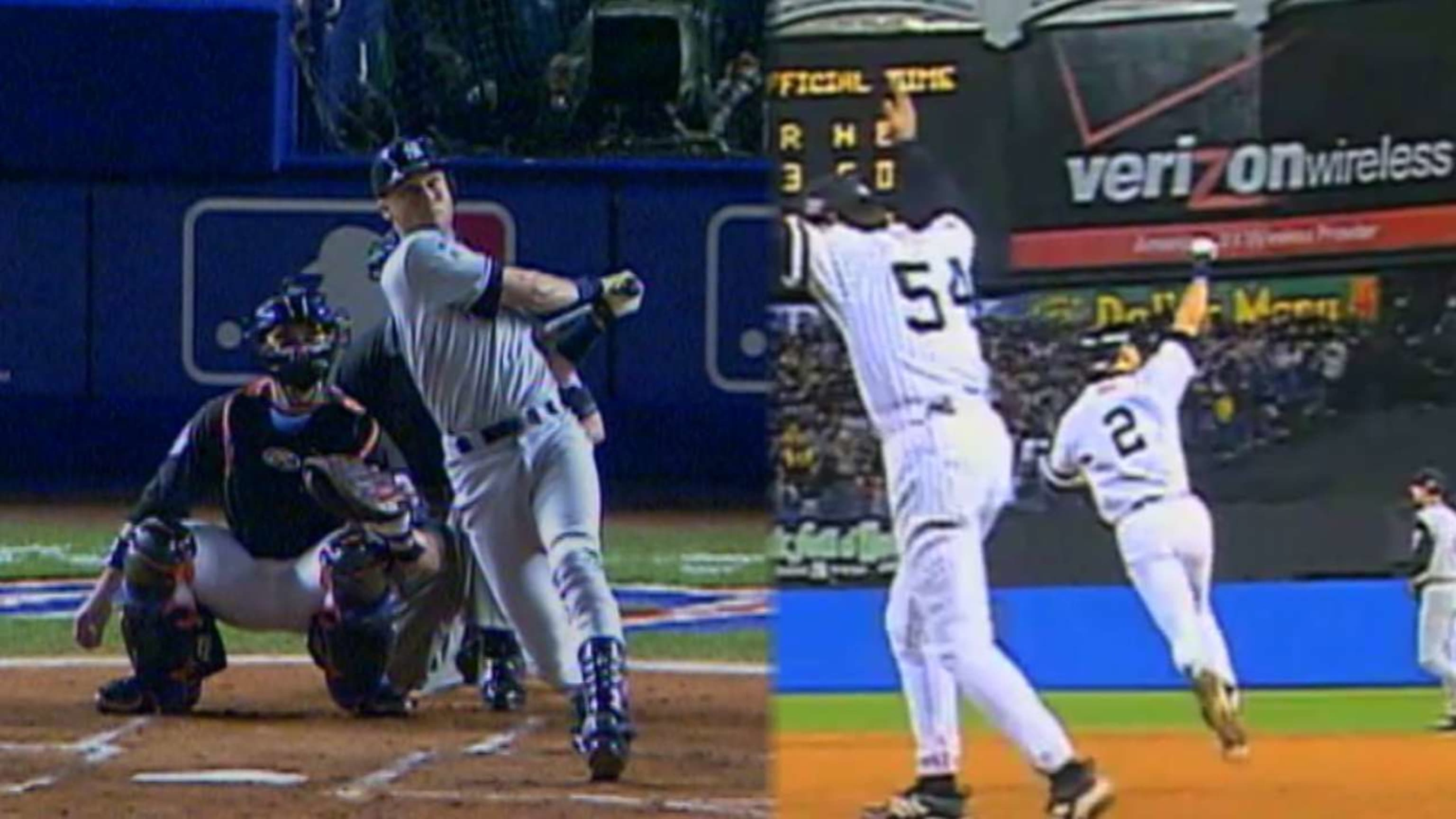 Jeter's historic WS homers