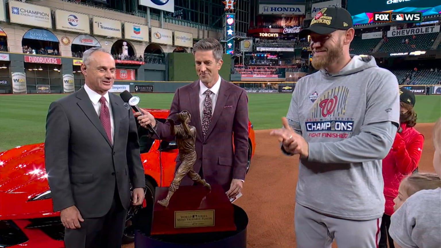 Strasburg wins World Series MVP | 10/31/2019