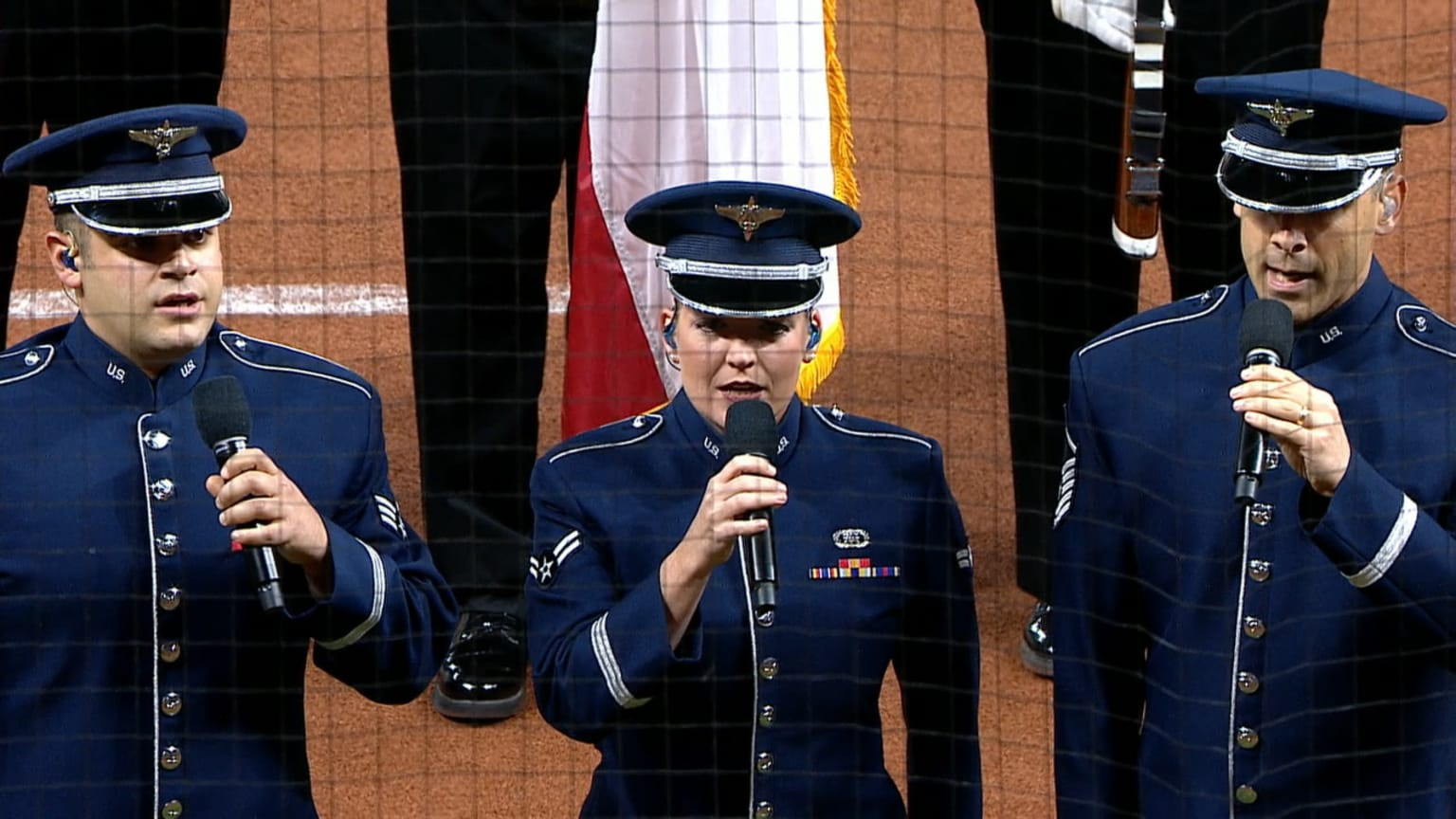 Air Force Academy national anthem | 10/14/2019