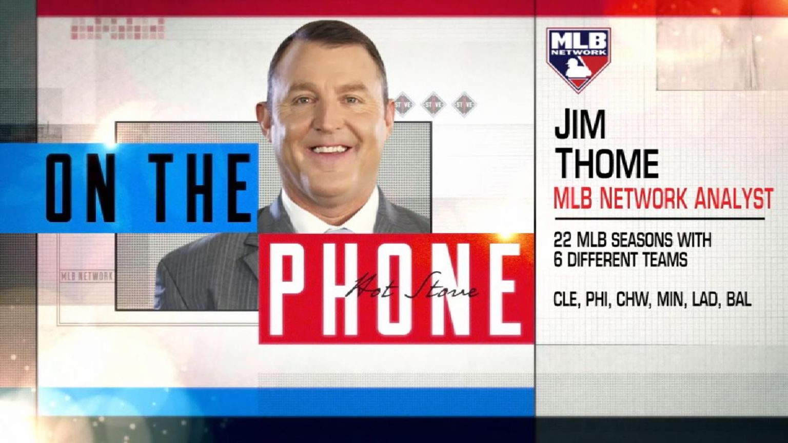 Thome talks CC on Hot Stove | 02/15/2019