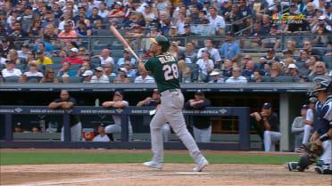 Olson's solo home run