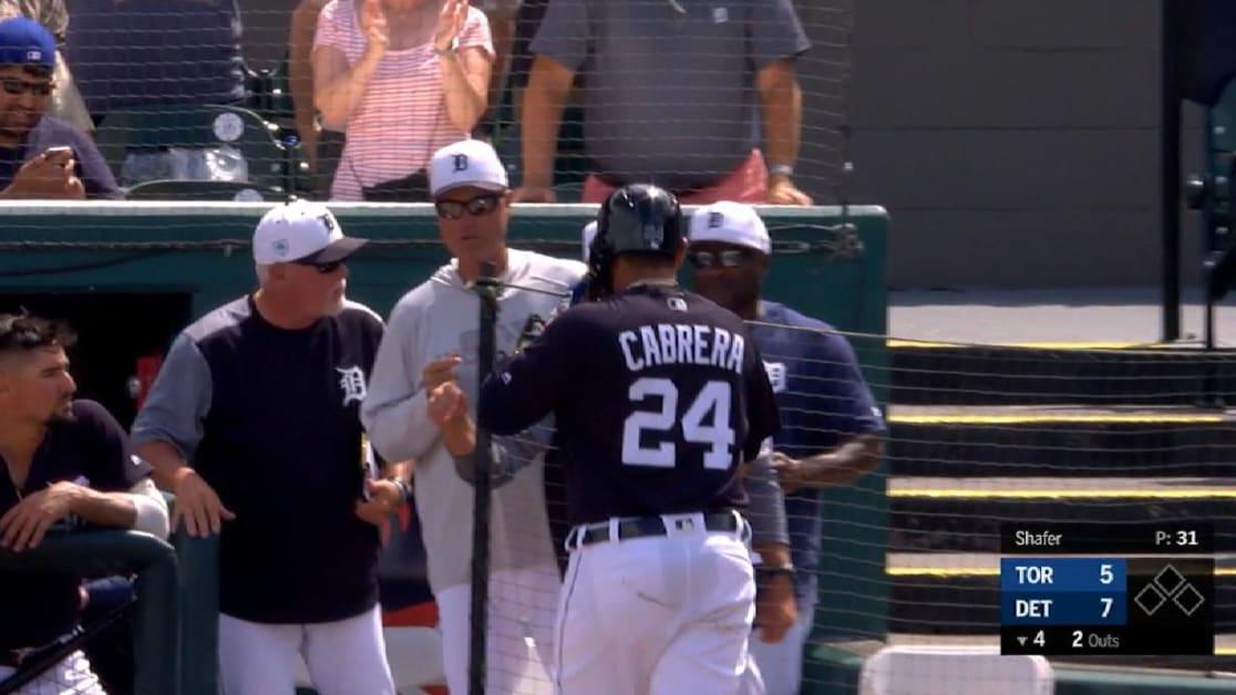 HR de dos carreras de Cabrera