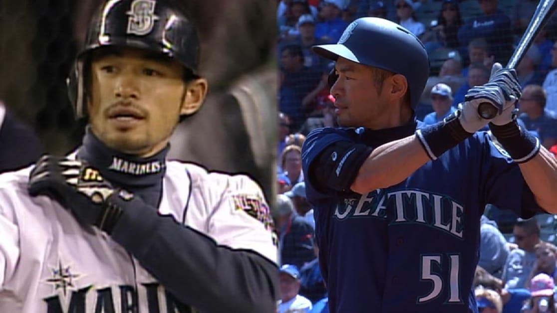First & Last: Ichiro's hits