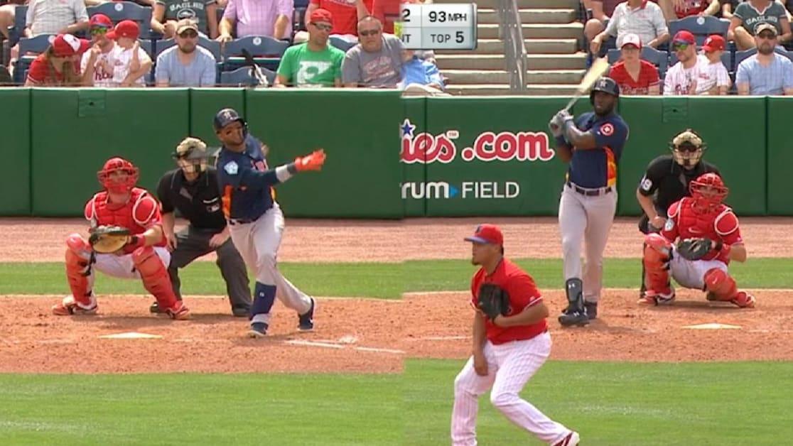 Astros anotan 9 carreras en la 5ta entrada