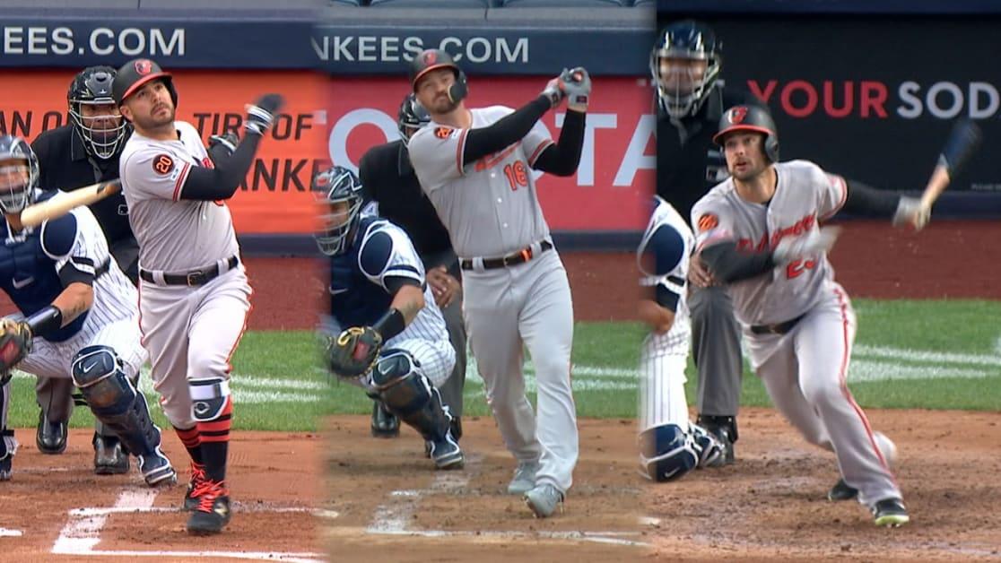 Orioles castigan a Yankees con 3 jonrones