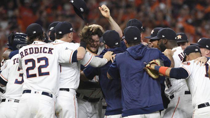 Cole mandó a Astros a su 3ra SCLA consecutiva