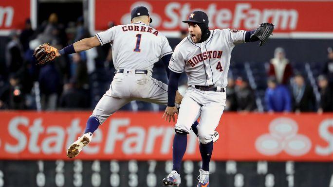 Astros aplastan a Yankees y se acercan a la SM