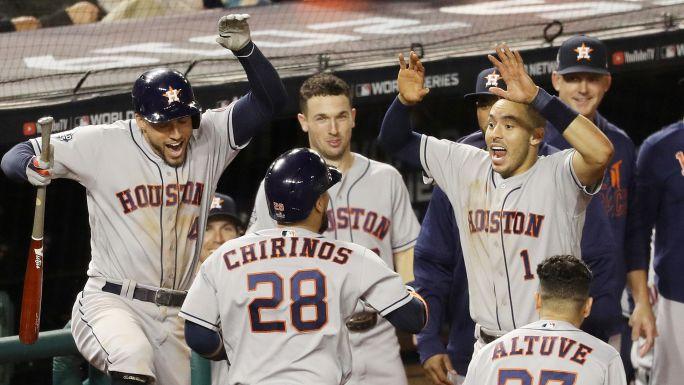 Astros reaccionan y obtienen 1er triunfo en la SM