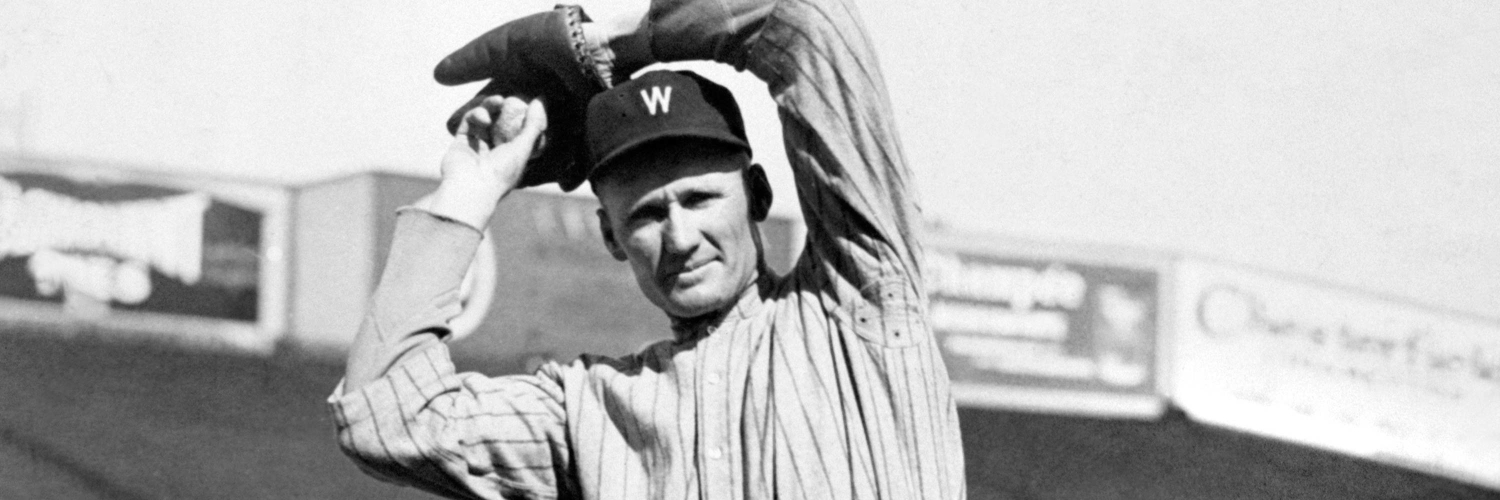 a biography of walter johnson the baseball player Full description : a biography of the national baseball hall of famer ty cobb who is recognized as one of the greatest hitters in baseball history, discusses his.
